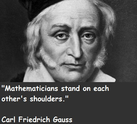 a biography of carl friedrich gauss a great mathematician Carl friedrich gauss, originally named johann friedrich carl gauss, was a german born mathematician, physicist, and inventor that is regarded as one of the greatest.